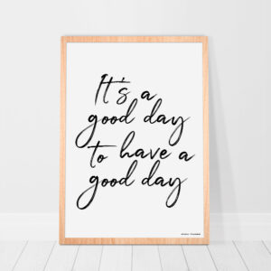 Poster-good-day-interieur