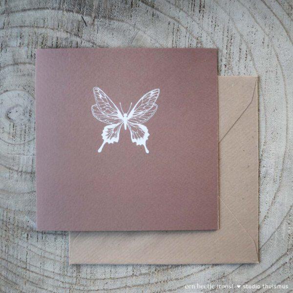 Beetje-troost-vlinder-kaart