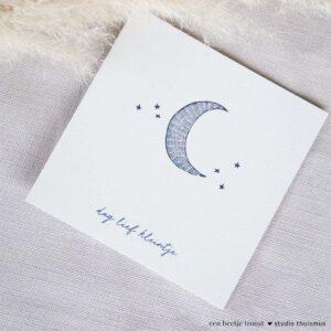 Condoleancekaart-baby
