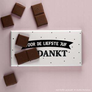 Juf-bedankje-chocoladereep