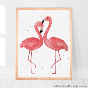 Printable-poster-flamingo